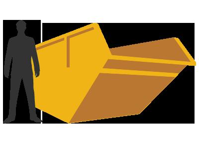 skip hire banner